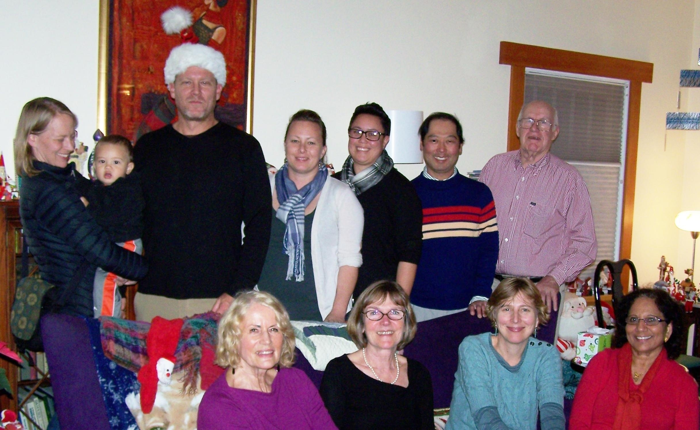 Board and Staff Holiday Gathering-2012